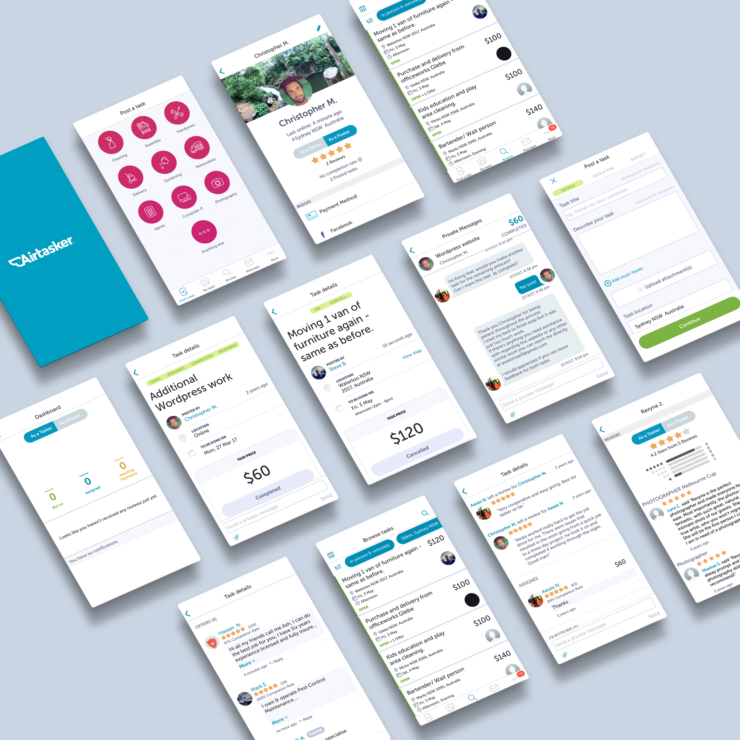 Airtasker – Sustainable Agency